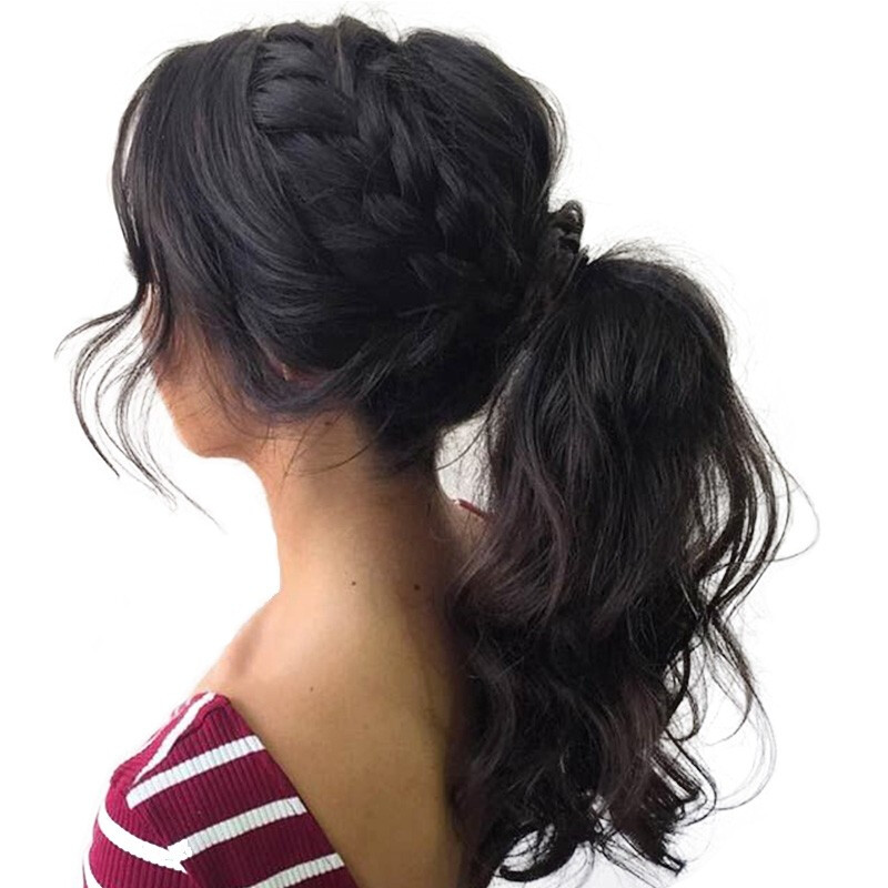 """CARA Pre Plucked 360 Lace Frontal Human Hair Wigs Body Wave 150% Density, 10"""""""