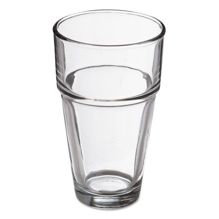 Stackables Cooler Glasses, 16oz, Clear, 36/Carton