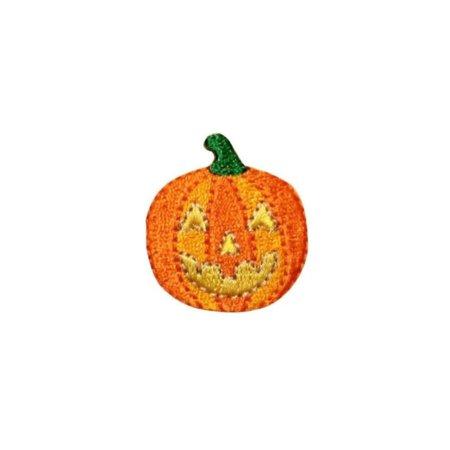 ID 0801B Jack O Lantern Patch Halloween Candy Fall Embroidered Iron On Applique](Halloween And Fall Crafts)