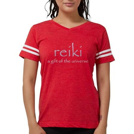 Reiki Universal Gift - CafePress - Reiki Universal Gift Women's Dark T Shirt - Womens Football Shirt
