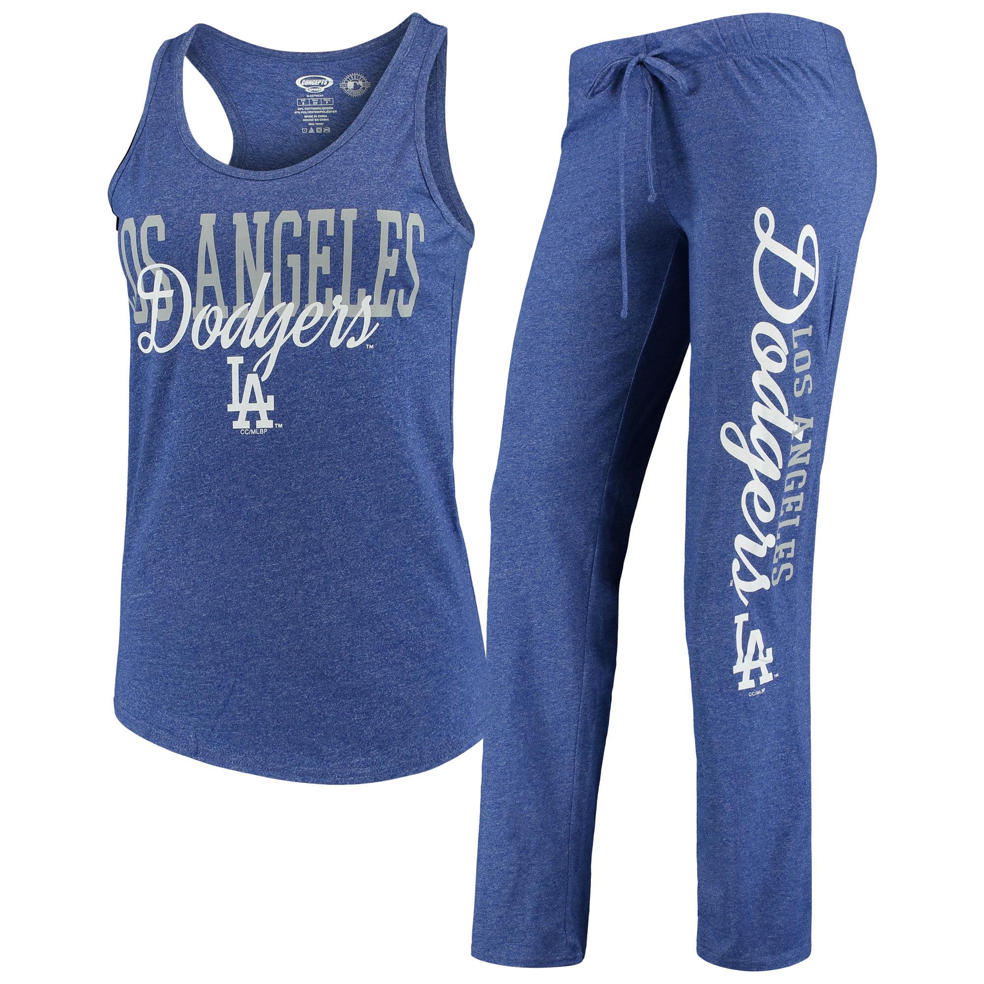 Los Angeles Dodgers Concepts Sport Women's Spar Pants & Top Sleep Set - Royal