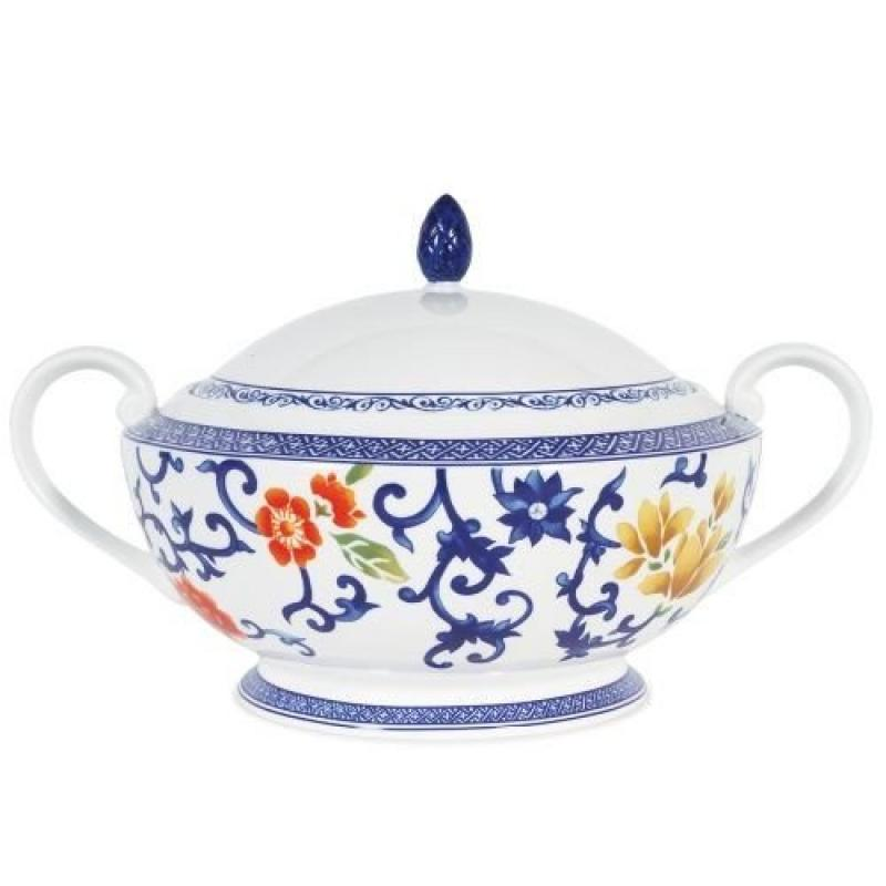 Lauren Ralph Lauren Dinnerware, Mandarin Blue Covered Cas...