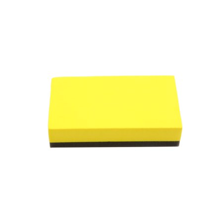 10Pcs Yellow Blue Car Waxing Polishing Foam Sponge Pads Cleaning Detailing Tool - image 2 of 5