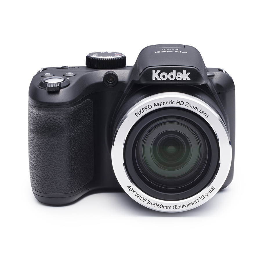 Click here to buy KODAK PIXPRO AZ401 Bridge Digital Camera 16MP 40X Optical Zoom HD720p video (Red) by Kodak.