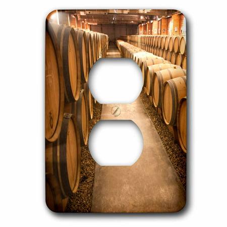 3dRose Storage area for wine harvested in the Haut-Medoc region of France. - 2 Plug Outlet (Online Outlets Stores)