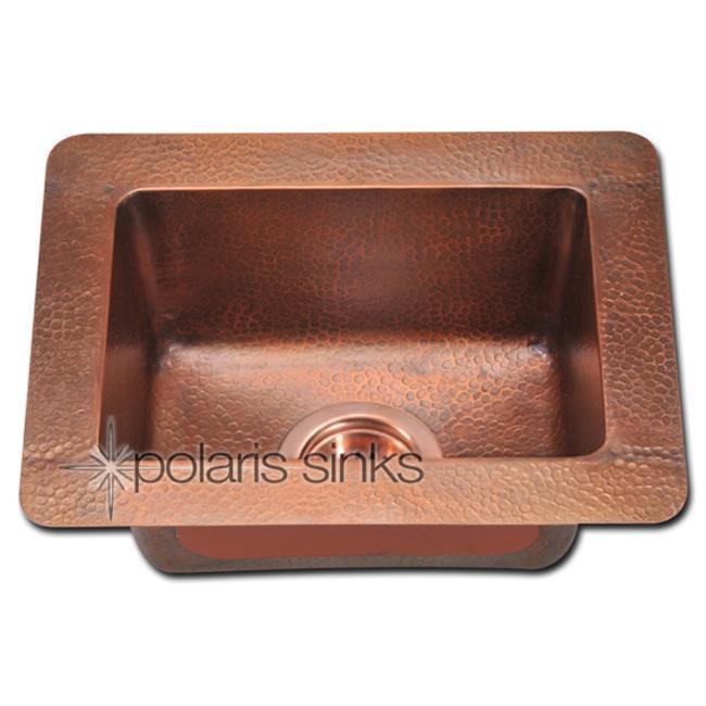 Polaris Sink P509 Small Single Bowl Copper Sink - image 1 de 1