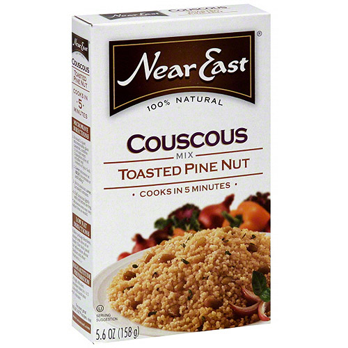 Near East Toasted Pine Nut Couscous Mix, 5.6 oz (Pack of 12)