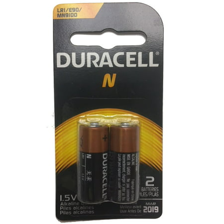 2pk Duracell 1.5V N Size Alkaline Battery Replaces  810 AM5 KN LR1SG 910A