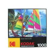 Kodak 1000 Piece Jigsaw Puzzle - Boats on Beach Greece