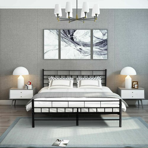 Latitude Run Blackman Queen Platform Bed