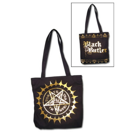 Tote Bag - Black Butler - New Pentacle Mark Hand Purse Anime Licensed (Andrew Marc Bags)