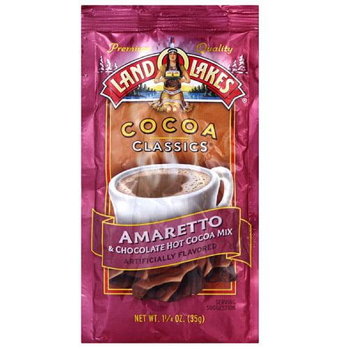 Land O Lakes Classic Chocolate Cocoa & Amaretto, 1.25 oz (Pack of 12)