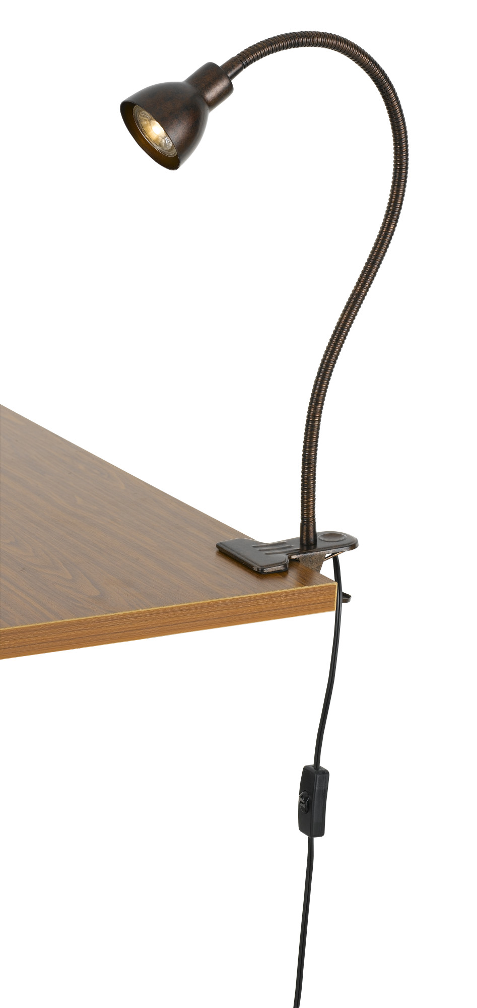 Ordinaire Cal Lighting Adjustable Clamp On Desk Lamp   Walmart.com