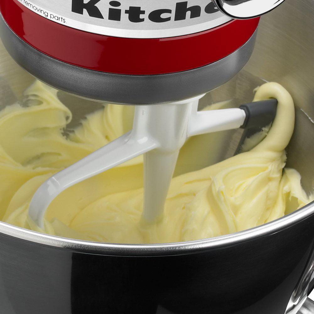 Kitchenaid Paddle Attachment With Scraper kitchenaid® tilt-head flex edge beater - walmart