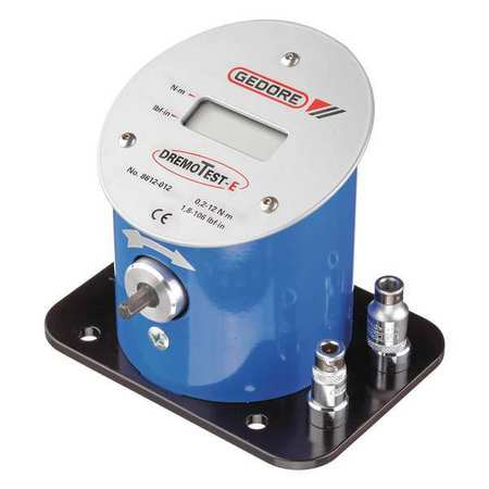 GEDORE 8612-012 Electronic Torque Tester,0.2-12 Nm G1886617