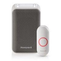 Honeywell RDWL311A2000 White/Gray Wireless Portable Doorbell With Push Button
