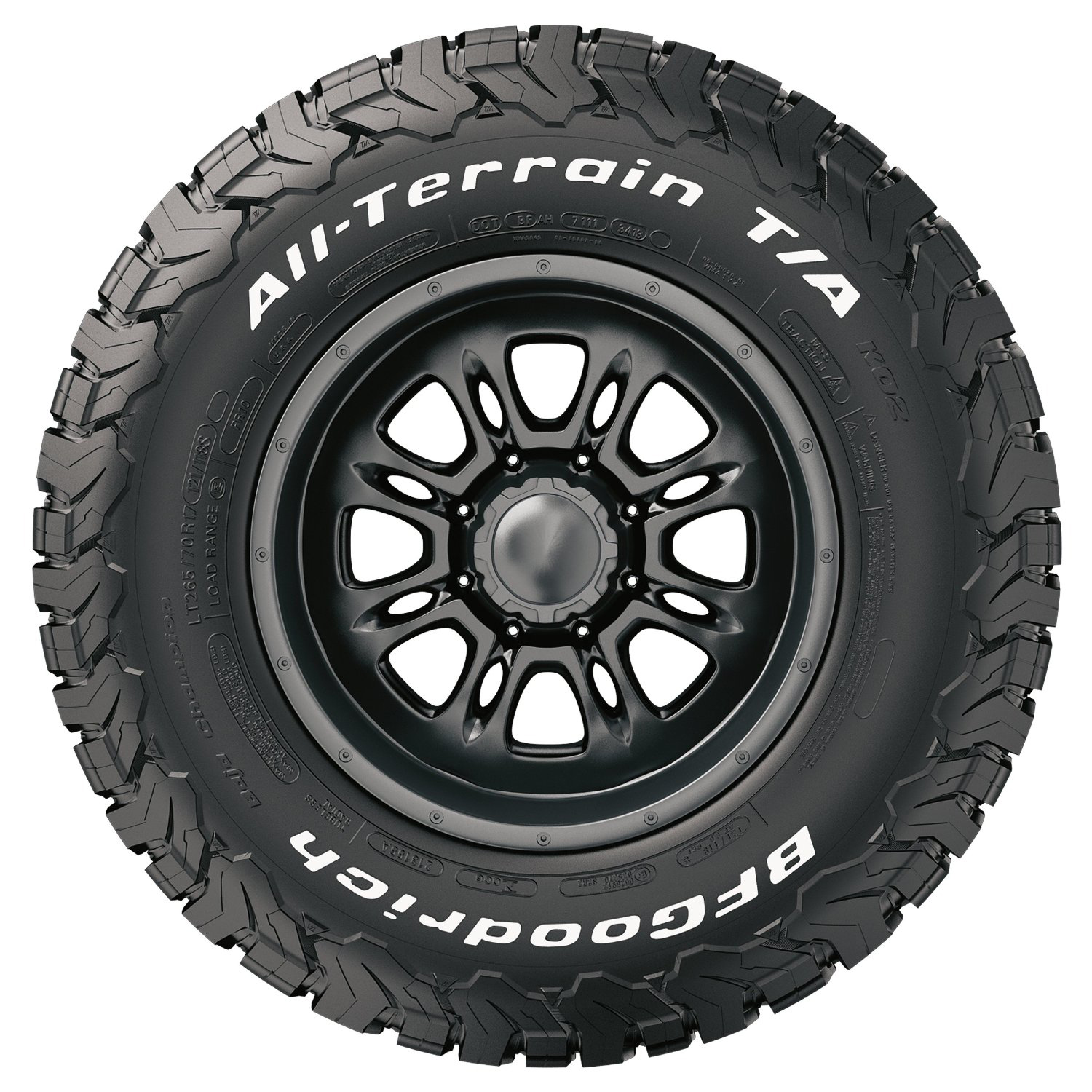 BF Goodrich All-Terrain T A KO2 Tire LT275 70R18 10 125 122R by BFGoodrich