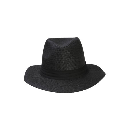 Fashion Style Banded Wide Brim Fedora Hat