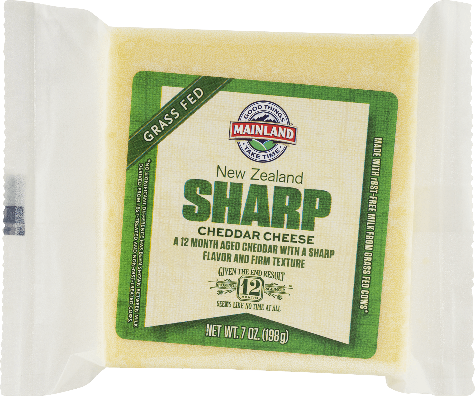 New Zealand Sharp Cheddar Cheese