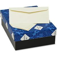 Strathmore, MOWM45831, Mohawk 24 lb. No. 10 Business Envelopes, 500 / Box, Ivory
