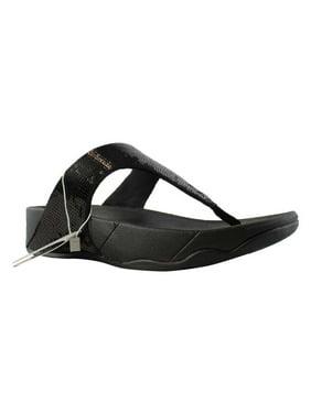 fitflop women's classic electra sandal ,black ,10 m us