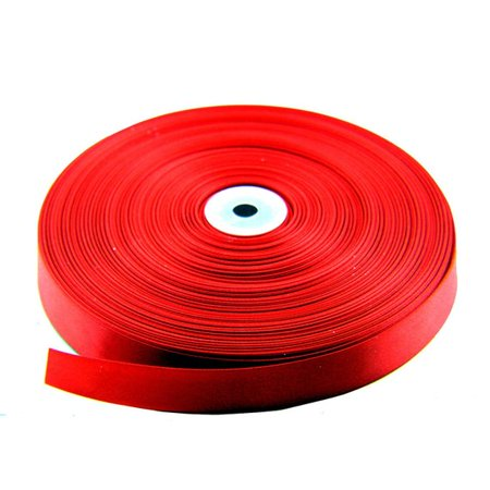 Red Satin Fabric Christmas Ribbon - 1