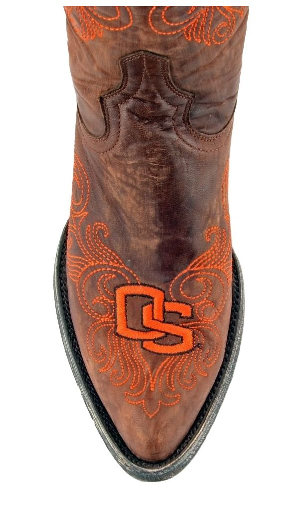 Gameday Boots Womens College Oregon State Beavers Brass ORS-L045-1