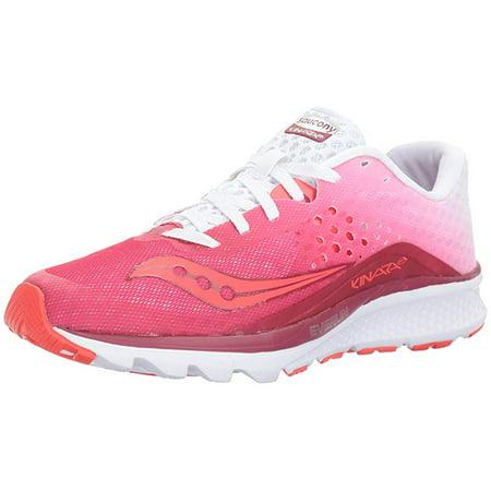 82666f1e Saucony Women's Kinvara 8 Running Shoe, Berry White, 6.5 B US