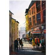 "Trademark Art ""Tourists in Italy"" Canvas Art by Ryan Radke"