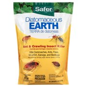 Safer Brand Diatomaceous Earth - Bed Bug, Flea, Ant, Crawling Insect Killer 4 lb