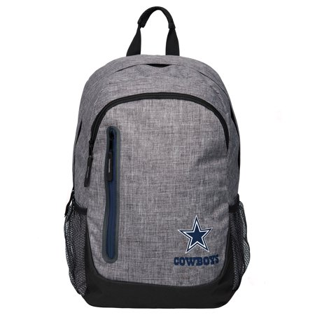 NFL Dallas Cowboys Forever Collectibles - Heather Gray Bold Color Backpack