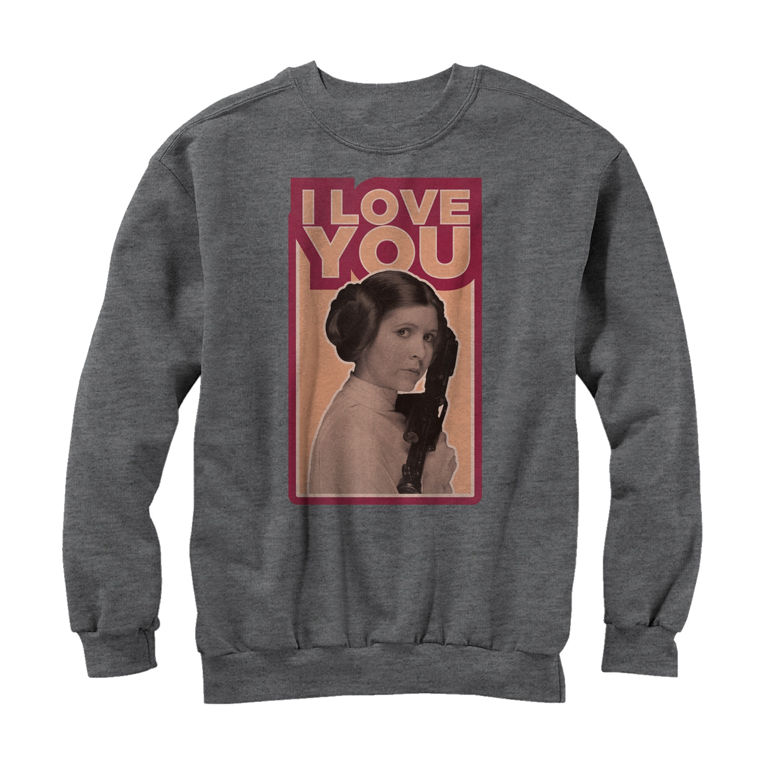 Star Wars Men's Princess Leia Quote I Love You Sweatshirt