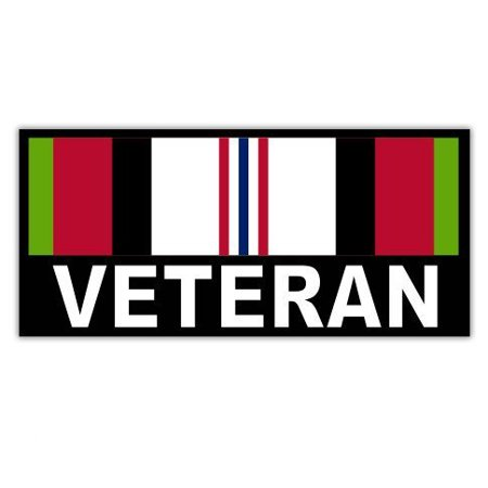 Afghanistan Veteran - Vinyl Sticker Waterproof Decal Sticker -