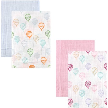 Walmart Swaddle Blankets Simple Hudson Baby Swaddle Blanket Muslin 60pk Collection Walmart