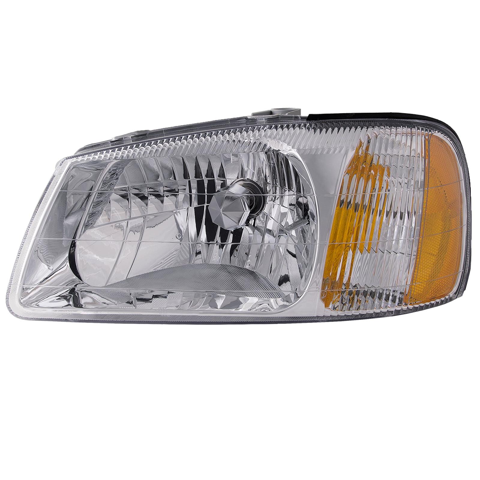 -Chrome 100W Halogen Driver side WITH install kit 6 inch 2014 Volvo VNL730 SLEEPER-POST Post mount spotlight