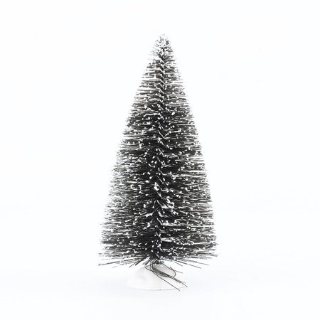 Mini tree,Zerone Mini Sisal Bottle Brush CHRISTMAS TREES Snow Frost Village Putz 10cm Hot - Bottle Brush Christmas Trees