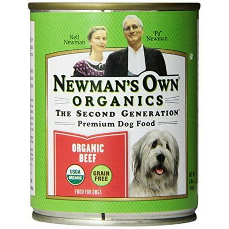 Newman S Own Organic Beef Dog Food