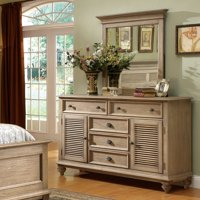 Riverside Coventry 5 Drawer Dresser - Weathered Driftwood