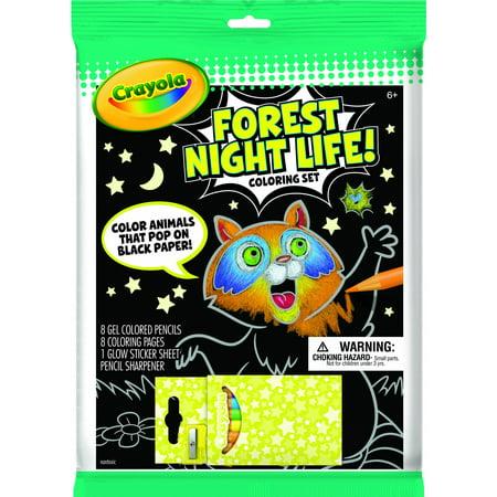 Crayola Forest Night Life Art Set