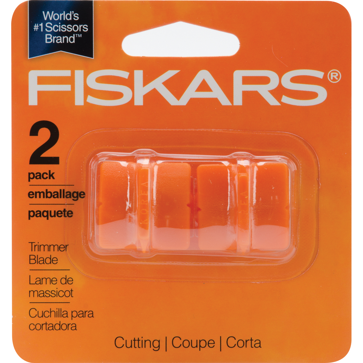 Fiskars Paper Trimmer Replacement Blades 2/Pkg-Straight, Style G