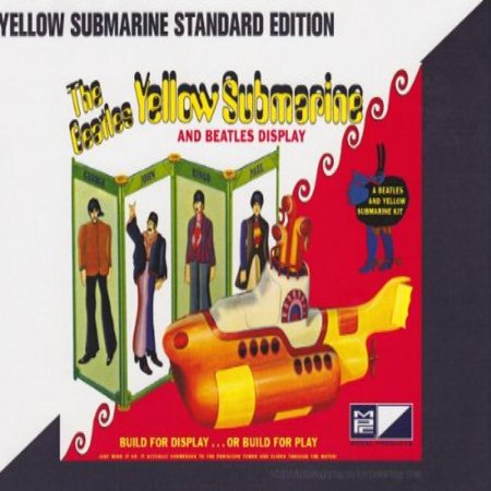Beatles Yellow Submarine Plastic Model Kit!