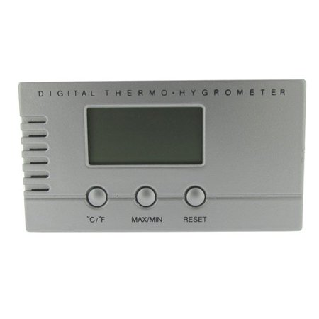Visol VAC705 Silver Digital Hygrometer for Cigar Humidors ()
