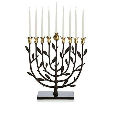 Michael Aram Pomegranate Kosher Menorah (Michael Aram Olive Branch Menorah)