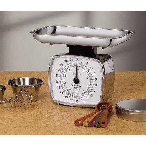 Salter Chrome Kitchen Scale