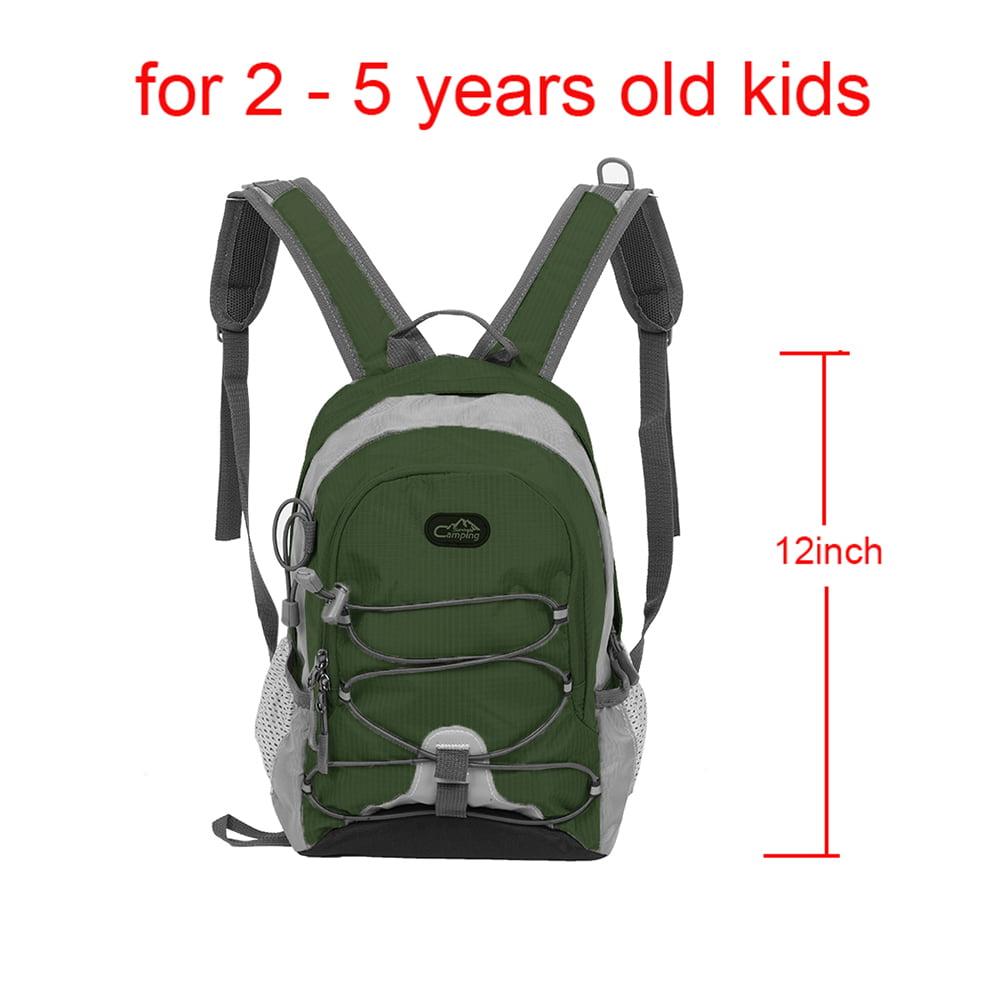 Kids School Bag Reflective Strip Backpack Schoolbag Waterproof Nylon School Bag For Girls Boys Children Backpack,big size rose red