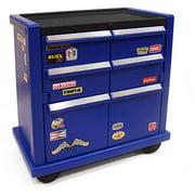 Step2 Kids Tool Storage Chest, Black/Blue