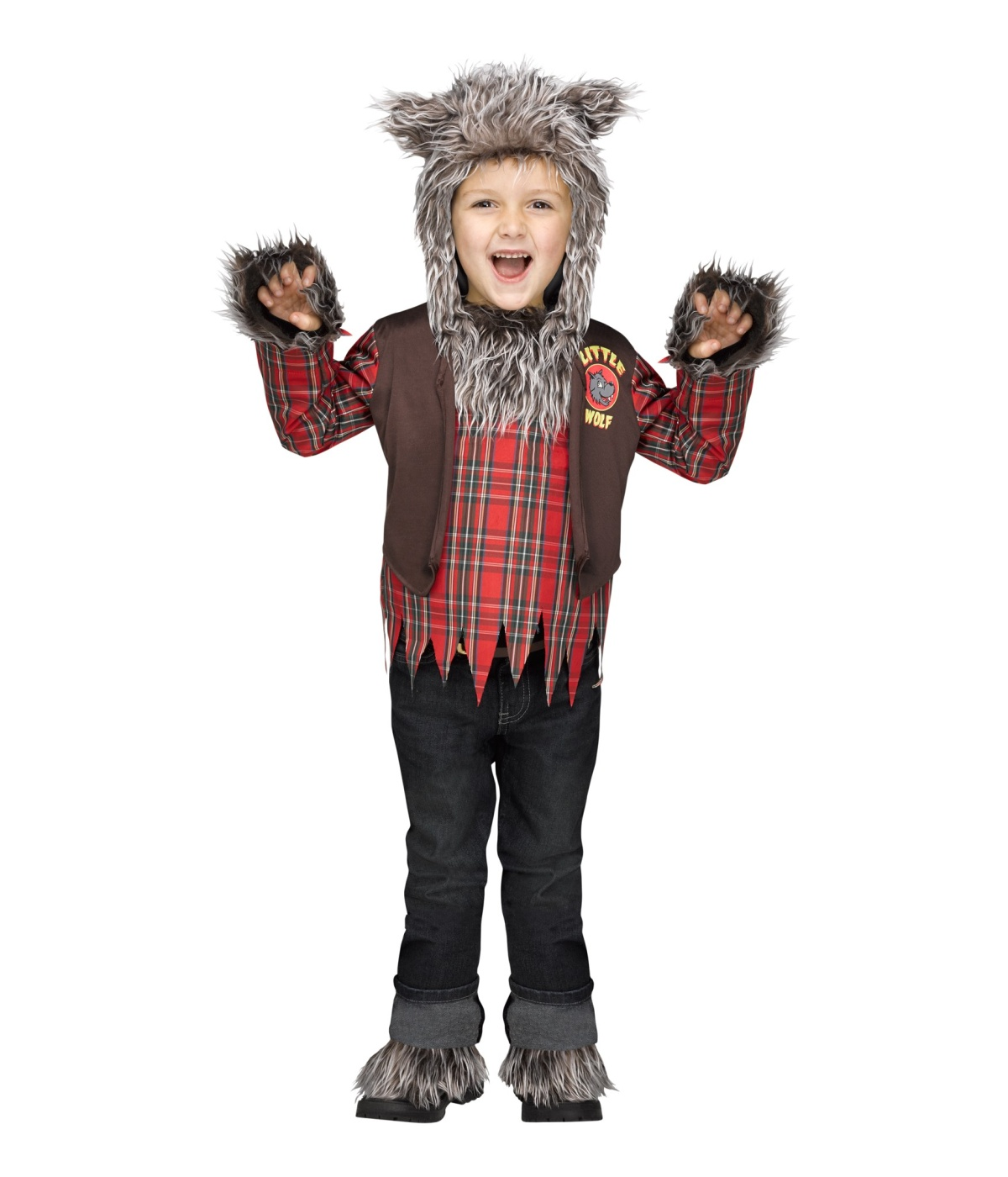 Halloween Makeup For Kids Boy.Little Boys Wolf Halloween Werewolf Costume