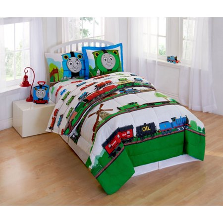 This button opens a dialog that displays additional images for this product  with the option to zoom in or out. Thomas and Friends Scenic Bedding Comforter Set   Walmart com