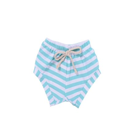 Outtop Toddler Infant Kids Baby Girls Boys Striped Shorts Summer Bloomers Outfits