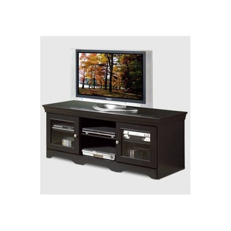 Tech craft veneto 60 39 39 tv stand in distressed black for Tech craft tv stands